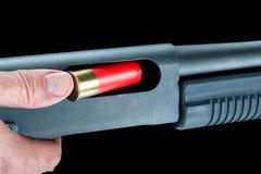 Fucile da caccia di caricamento Immagine Stock Libera da Diritti