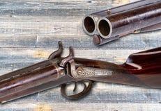 Fucile da caccia occidentale antico Immagini Stock Libere da Diritti