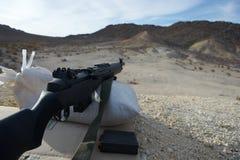 Fucile del deserto fotografie stock