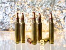 Fucile delle pallottole Immagini Stock