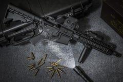 Fucile di assalto dell'arma Fotografia Stock Libera da Diritti