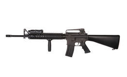 Fucile di assalto di M16A4 RIS. Fotografia Stock Libera da Diritti