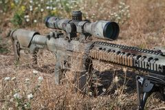 Fucile di tiratore franco di Airsoft Immagini Stock Libere da Diritti