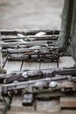 Fucile di tiratore franco per lasertag immagine stock libera da diritti