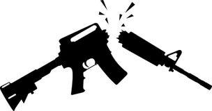 Fucile rotto Immagine Stock Libera da Diritti