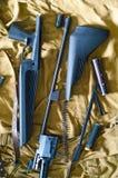 Fucile smontato Immagini Stock Libere da Diritti