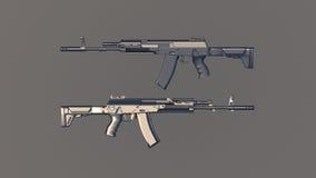Fucili di AK Immagini Stock Libere da Diritti