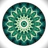 Fucinette Medallion: Geometric Vector Art Octagonal Design. Royalty Free Stock Images