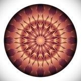Fucinette Medallion: Geometric Vector Art Octagonal Design. Stock Images