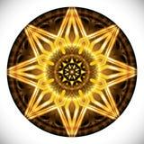 Fucinettemedaillon: Geometrisch Vectorart octagonal design vector illustratie