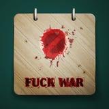 Πόλεμος Fuck Στοκ εικόνες με δικαίωμα ελεύθερης χρήσης