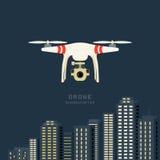Fuco aereo a distanza con una macchina fotografica Fotografia Stock