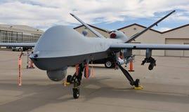 Fuco del reaper dell'aeronautica MQ-9 fotografia stock libera da diritti