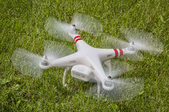 Fuco fantasma del quadcopter di DJI Immagini Stock