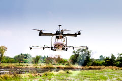 Fuco, UAV Fotografie Stock