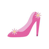 fucsia pump icon image Royalty Free Stock Images