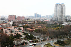 Fudan universitet, Shanghai royaltyfria foton