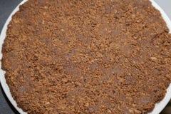 Fudge грецкого ореха Стоковая Фотография