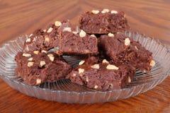 fudge шоколада Стоковое Изображение