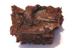 Fudge brownie Royalty Free Stock Photo