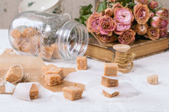 Fudge candy Stock Images