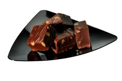 Fudge (with clipping path) Royalty Free Stock Photo