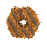 Fudge coconut caramel cookie Royalty Free Stock Photo