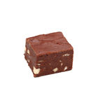Fudge de chocolate fotografia de stock royalty free