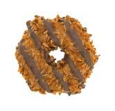 Fudge karmelu kokosowy ciastko zdjęcie royalty free