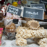 Fudge and sweets Stock Photos