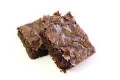 Fudgy Brownies Royalty Free Stock Photo