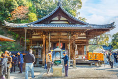 Fudo Hall at Kinkaku-ji Complex in Kyoto Royalty Free Stock Photo
