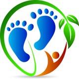 Fußdruck Stockbild