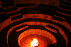 Fuego 02 fotografía de archivo libre de regalías