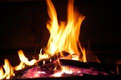 Fuego 03 Imagen de archivo libre de regalías