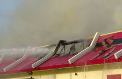 Fuego 11 del restaurante Imágenes de archivo libres de regalías