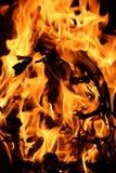 Fuego 4 Imágenes de archivo libres de regalías