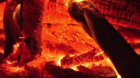Fuego almacen de metraje de vídeo
