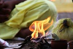 ¡Fuego! Imagen de archivo