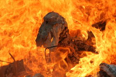 Fuego Imagen de archivo libre de regalías