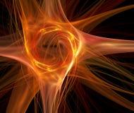 Fuego abstracto Imagen de archivo