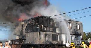 Fuego ardiente de la casa