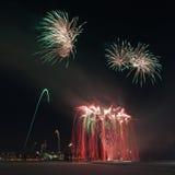 Fuego artificial Fotos de archivo