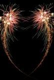 Fuego artificial de la celebración Foto de archivo