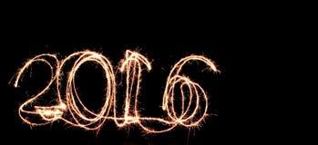 Fuego artificial del Año Nuevo imágenes de archivo libres de regalías