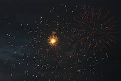 Fuego artificial del festival Fotografía de archivo libre de regalías