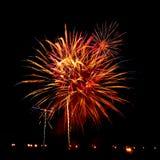 Fuego artificial - fotos comunes imagen de archivo libre de regalías