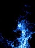 Fuego azul Imagenes de archivo