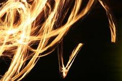 Fuego-baile Fotografía de archivo