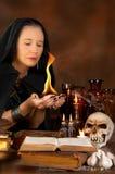 Fuego Bewitched Foto de archivo libre de regalías